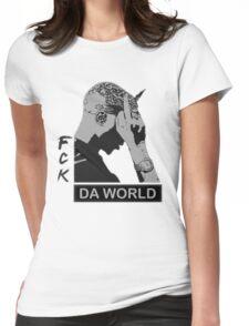 RAP / HIP-HOP: Tupac Shakur aka 2Pac / Makaveli Womens Fitted T-Shirt