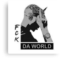 RAP / HIP-HOP: Tupac Shakur aka 2Pac / Makaveli Canvas Print