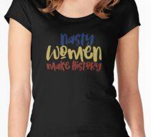 Nasty Women Women's Fitted Scoop T-Shirt