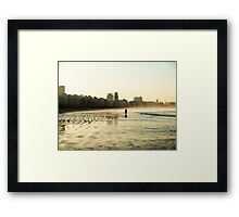 some walks you have to take alone Framed Print