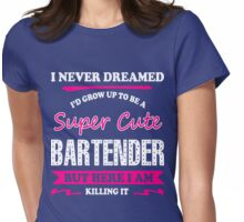 Bartender Womens Fitted T-Shirt