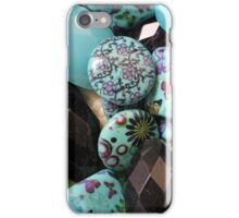 flower on stones iPhone Case/Skin