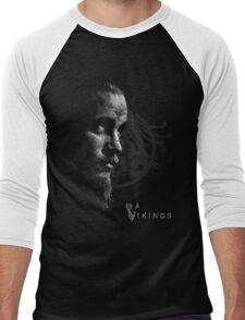Vikings Ragnar Lothbrook Valhalla Men's Baseball ¾ T-Shirt