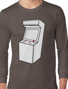 Arcade Machine Long Sleeve T-Shirt