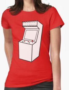 Arcade Machine Womens Fitted T-Shirt