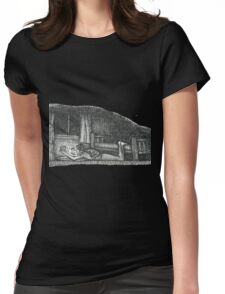 Late Night Read Womens Fitted T-Shirt