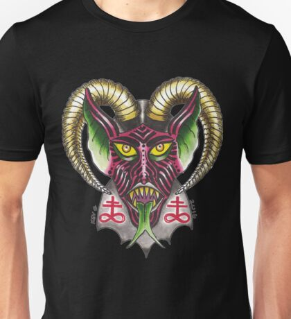 DEVIL HORNS Unisex T-Shirt