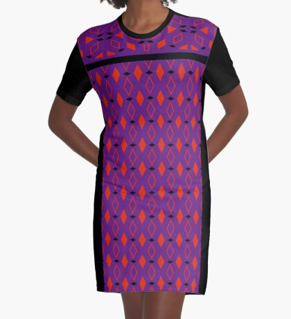 In Style  Graphic T-Shirt Dress