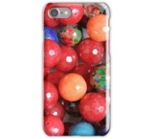 colored stones iPhone Case/Skin