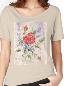 The Sweetest Rose Women's Relaxed Fit T-Shirt