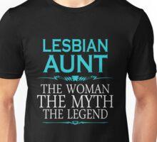 Funny Lesbian - Lesbian Aunt Tshirts Lesbian Gag Gifts Unisex T-Shirt
