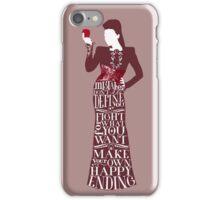 Regina Mills Make Your Own Happy Ending iPhone Case/Skin