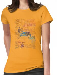 Arctic Monkeys quotes Galaxy Womens Fitted T-Shirt