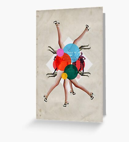 Show girls love fashion Greeting Card