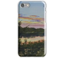 River Sunset iPhone Case/Skin