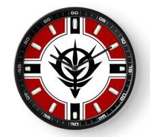 Gundam Zeon clock Clock