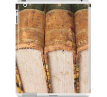 old books iPad Case/Skin