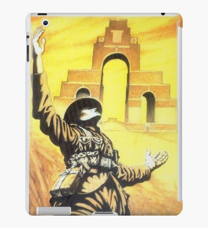 WW1 Somme memorial 1916 centenary British Thiepval iPad Case/Skin