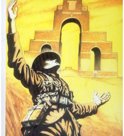 WW1 Somme memorial 1916 centenary British Thiepval Sticker