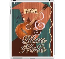 The Blue Note iPad Case/Skin