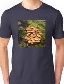 Mushrooms at Hector Lake. Unisex T-Shirt