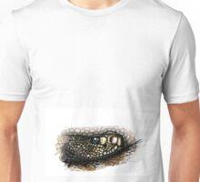 Rattlesnake in color Unisex T-Shirt