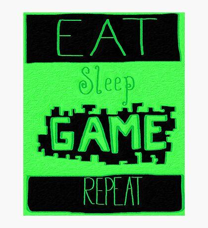 Gaming Photographic Print