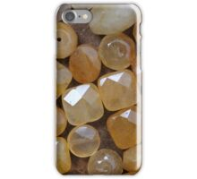 amber stones iPhone Case/Skin