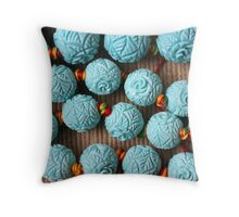 colored stones Throw Pillow