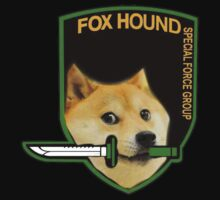 FOXHOUND Doge by evanmayer