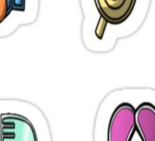 Hoenn Gym Badge Stickers Sticker