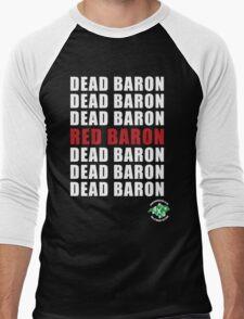Red Baron Inverse Men's Baseball ¾ T-Shirt