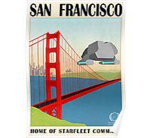 Star Trek - Travel Poster (San Francisco) Poster