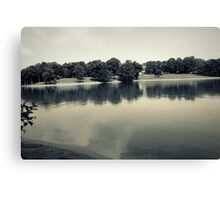 landscape of lake Canvas Print