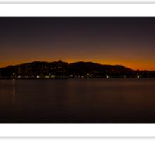 Cairns Sunset Panorama Sticker