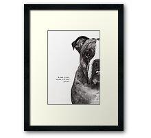 Benson Framed Print