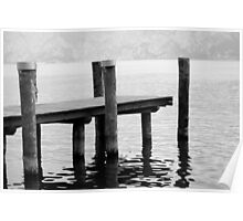 dock at lake Poster