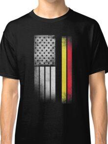 Belgian American Flag Classic T-Shirt