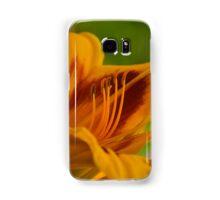 yellow rising Samsung Galaxy Case/Skin
