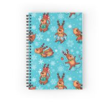 Happy Holidays! Spiral Notebook