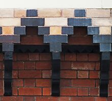 Decorative Brick Work by Yampimon