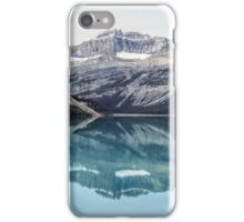 Rockies Reflected Alberta Canada iPhone Case/Skin