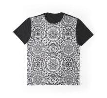Geometric Circle Tribal Pattern Graphic T-Shirt