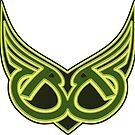 Thunderbird Winged B's by Hedrin
