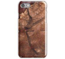 Western Worn Saddle Leather Look iPhone Case/Skin
