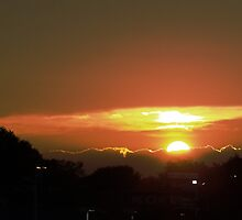 Sunset as seen from BestBuy by nastruck