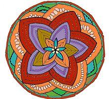 Power Flower Mandala by thomasstevens