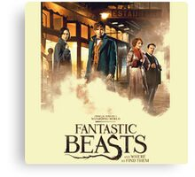Fantastic Beast And Where To Find Them Canvas Print