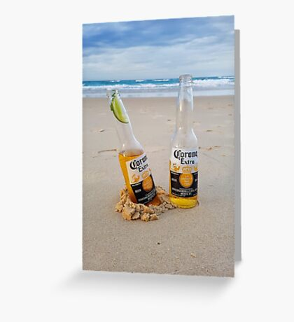 Beer O'clock Greeting Card