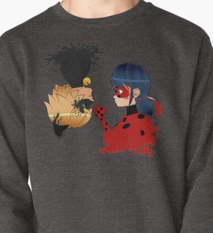 Ladybug y Chat noir Pullover